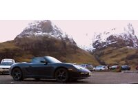 18 inch Porsche winter alloys tyres (as new)