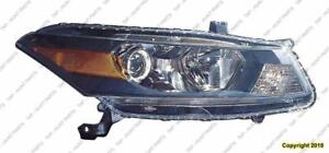 Head Lamp Passenger Side Coupe High Quality Honda Accord 2011-2012