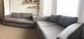 Fabric well maintained sofa £945