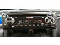 Pioneer deh in car audio gps for sale gumtree pioneer deh 1400r car radio cd rw player aux in no publicscrutiny Choice Image