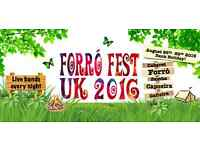 Last days for Saver tickets to Brazilian Dance festival - Forró Fest UK!