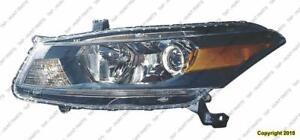 Head Lamp Driver Side Coupe High Quality Honda Accord 2011-2012