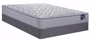SERTA Luxury Lodge Firm Mattress Sets! From $425! Twin, Full, Queen or King Sizes!