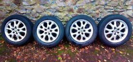 "Alfa Romeo 147 156 15"" Elegance alloy wheels and tyres"