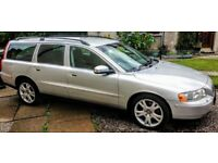 VOLVO V70 2.4 D5 Manual 2008 '57 reg 148k NEW TIMING BELT 185bhp