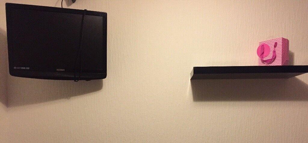 Tv and shelf