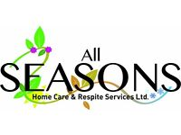 3 female support workers/carers now have availability for domiciliary and respite services