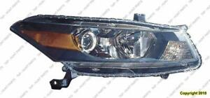 Head Light Passenger Side Coupe High Quality Honda Accord 2011-2012