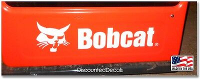 Bobcat Skid Steer Rear Door Replacement Decal T180 T190 T200 T300 T320 Usa Made