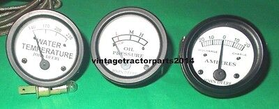 John Deere B Gauges Oil Amp Water Temperature Gauge Set