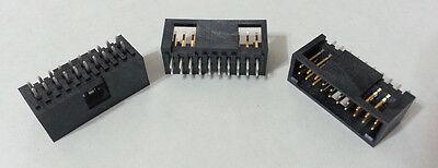 Header Connector Shrouded Gold 20-pin .1 Molex 15-80-0203 70567-0076 New 342pcs