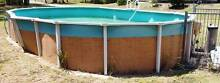 Above ground swimming pool approx 5 metre long new pump Springwood Logan Area Preview