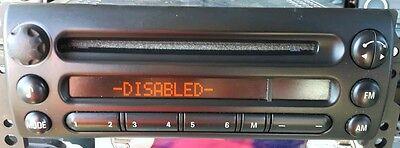 bmw mini alpine radio decode disable repair service