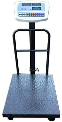Parcel Scales 500KG with Bracket Netta Heavy Duty Digital Platform Postal