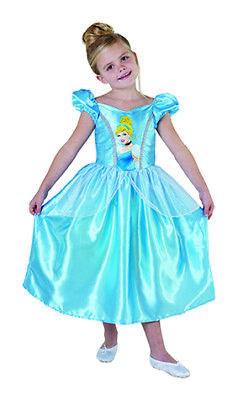 Cinderella Big Print Classic Prinzessin Kleid Kinder Kostüm Disney
