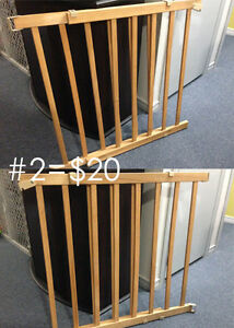2 Gates + Hardware! Great for kids or pets!