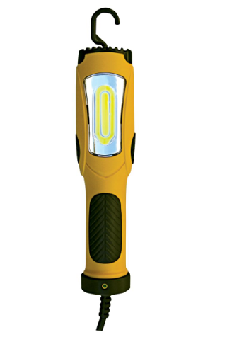 500 Lm Bright LED Handheld Work Light With Hook/Magnet/6 Fee