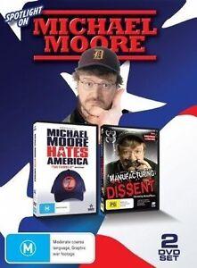 Spotlight On Michael Moore (DVD, 2010, 2-Disc Set, R4, Free Postage)