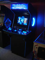 Arcade Cabinet - Retro X Arcade - Stand Up with neon