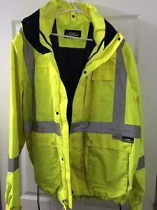 Used Safety Construction Jacket