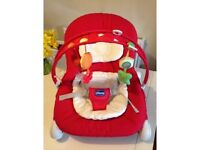 Chicco Hoopla Bouncer - Red Wave