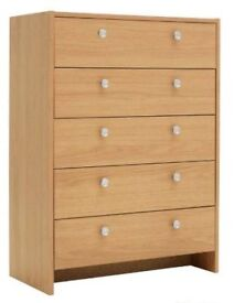 Chest of drawers **BRAND NEW**