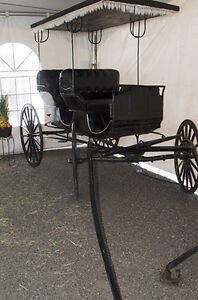 Antique Aimish Horse Carriage Surrey Buggy for sale