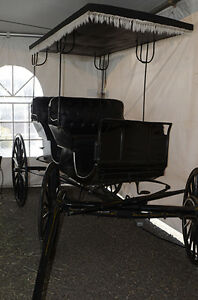 Aimish Antique Horse Carriage Surrey Buggy For Sale Williams Lake Cariboo Area image 3