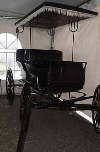 Aimish Antique Horse Carriage Buggy Surrey For Sale Strathcona County Edmonton Area image 3