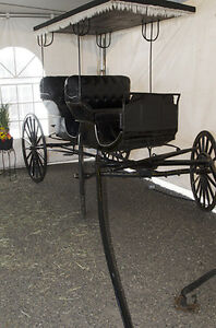 Antique Aimish Horse Carriage Buggy Surrey For Sale