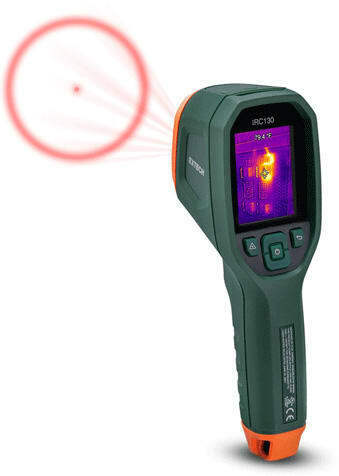 Extech IRC130 Thermal Imager IR Thermometer with MSX
