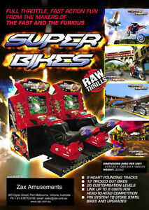 FAST & FURIOUS SUPER BIKES RACERS ARCADE GAMES