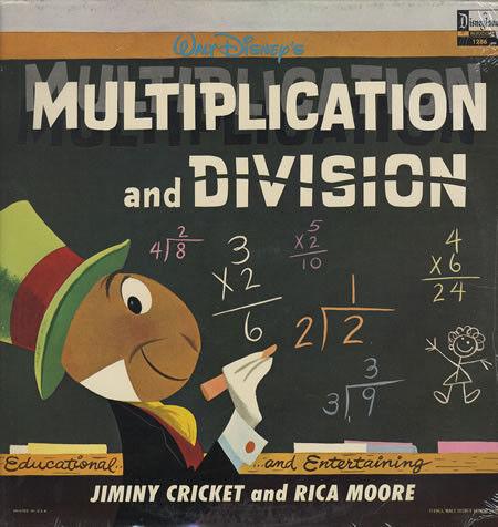 Disney: Multiplication & Division - LP (#1286)