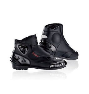 Motorcycle Sport Styled Ankle Riding Boots by Exustar • NEW!