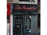 Hairdressing chair for rent in Stourbridge - Located on popular Main Highstreet