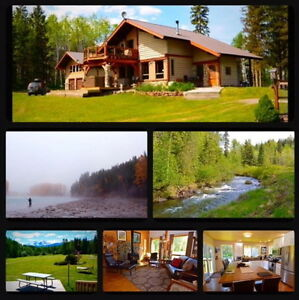 NON-GUIDED FISHING LODGE/HOMESTEAD, Smithers, British Columbia