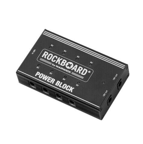 RockBoard Power Block Pedalboard DC Multi-Power Supply