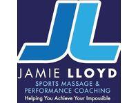 Jamie Lloyd Sports Massage