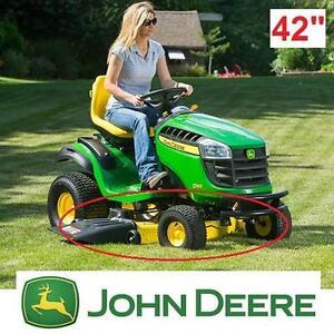"NEW JOHN DEERE 42"" MOWER DECK COMPLETE REPLACEMENT PARTS MOWERS LAWNMOWER LAWNMOWERS TRACTOR PART ACCESSORIES 104799990"