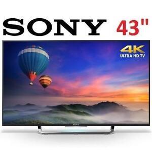 NEW OB SONY 43'' 4K XBR43X830C TV XBR43X830C 141801342 SMART LED ULTRA HD 2015 model