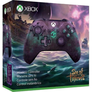 Limited edition sea of thieves xbox controller