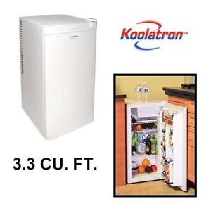 NEW KOOLATRON COMPACT MINI FRIDGE 3.3 CU. FT. KOOL COMPACT FRIDGE - WHITE - MINI REFRIGERATOR 105775593