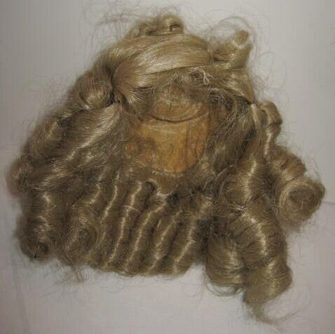 Old Blonde Doll Wig w/ Tons of Curls for Doll Repair