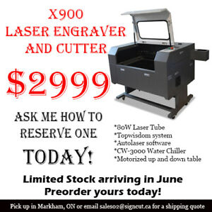 X900 Laser engraver and Cutter