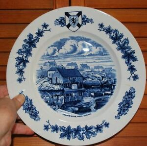 "Decorative Plate ""Peggy's Cove"""