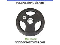 2 X 10kg NEW olympic weights