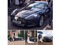 Aston Martin Rapide Hire 007