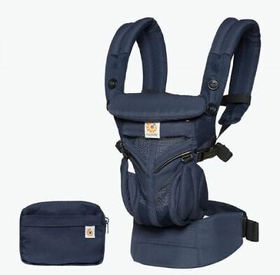 NEW Ergo OMNI 360 Baby Carrier All-In-One Cool Air Mesh - Midnight Blue