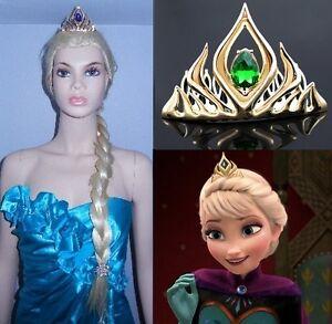 NEW IN GIFT BOX: Golden Metal Queen Elsa Tiaras