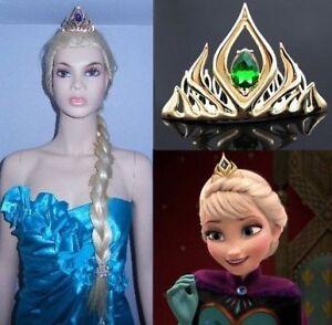 BRAND NEW: Golden Metal Queen Elsa Tiara (in Gift Box)